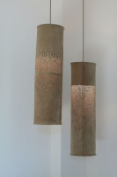 Hogan and Hartson Suede Lamp Commission